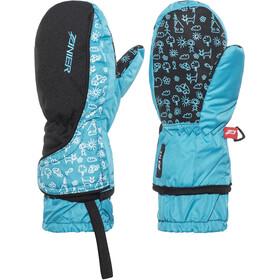 Zanier Gloves Shorty.ZX - Gants Enfant - bleu/noir
